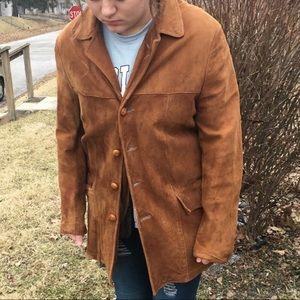 Eddie Bauer Vintage Suede Jacket! VGUC!
